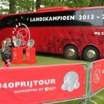 Ajax 4 op rij tour 2014