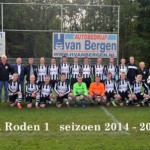 roden voetbal nw shirts 1a
